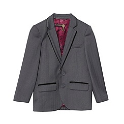 Baker by Ted Baker - Boy's grey  Baker Best' suit jacket