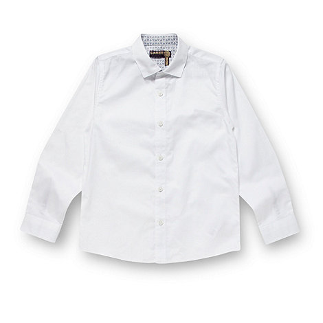 Baker by Ted Baker - Boy+s white textured shirt