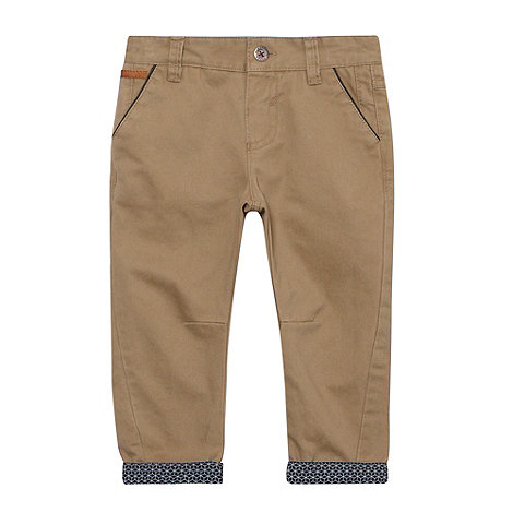 Baker by Ted Baker - Babies natural peg leg chinos
