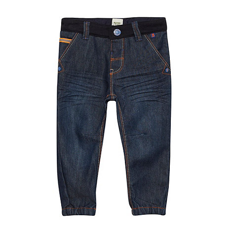 Baker by Ted Baker - Boy+s blue cuffed jeans