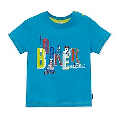 Baker by Ted Baker - Babies blue dog and city print t-shirt