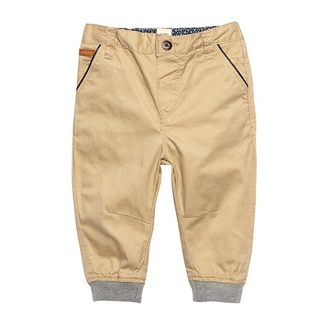 Baker by Ted Baker - Babies natural cuffed chinos