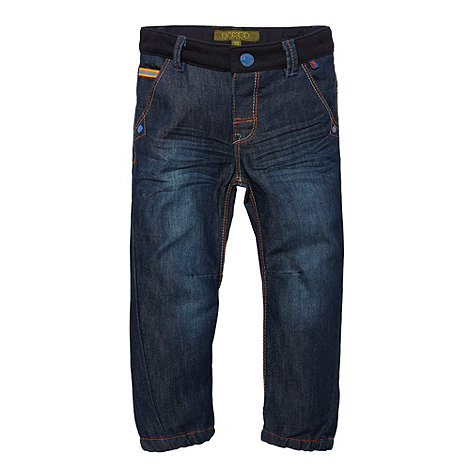 Baker by Ted Baker - Boy+s blue sweat waistband jeans