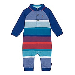 Baker by Ted Baker - Baby boys' multi-coloured striped romper