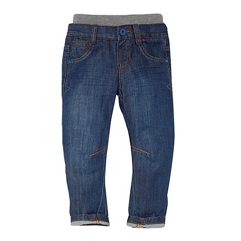 Baker by Ted Baker - Boy+s blue twisted leg jeans