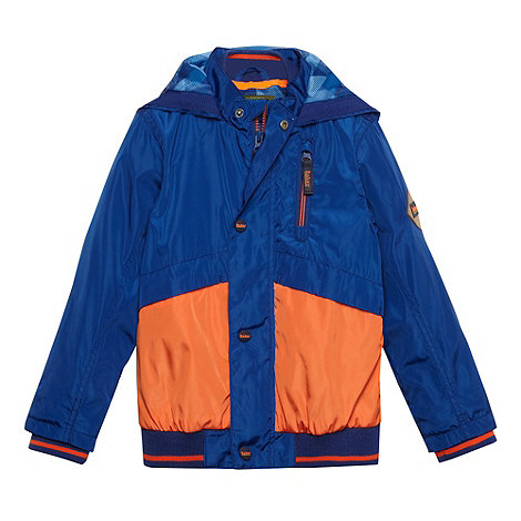 Baker by Ted Baker - Boy+s dark blue windcheater jacket