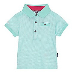 Baker by Ted Baker - Baby boys' green geometric print polo shirt