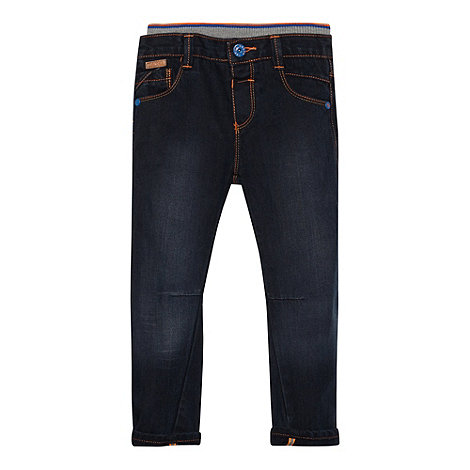 Baker by Ted Baker - Boy+s blue herringbone jeans