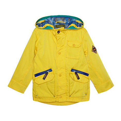 Baker by Ted Baker - Boy+s yellow hooded mac