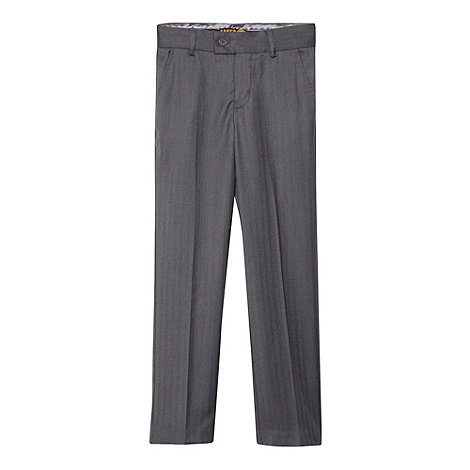 Baker by Ted Baker - Boy+s grey suit trousers