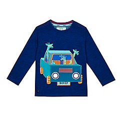 Baker by Ted Baker - Boys' blue car applique long sleeve t-shirt
