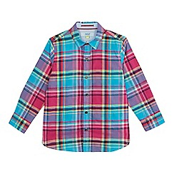 Baker by Ted Baker - Boys' multicoloured checked shirt