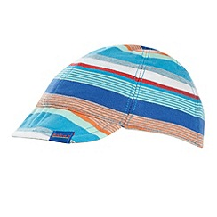 Baker by Ted Baker - Babies grey striped reversible cap