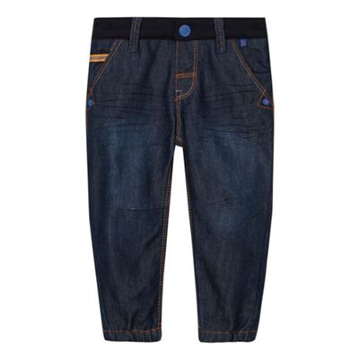 Baker by Ted Baker Babies blue jersey waistband jeans - . -