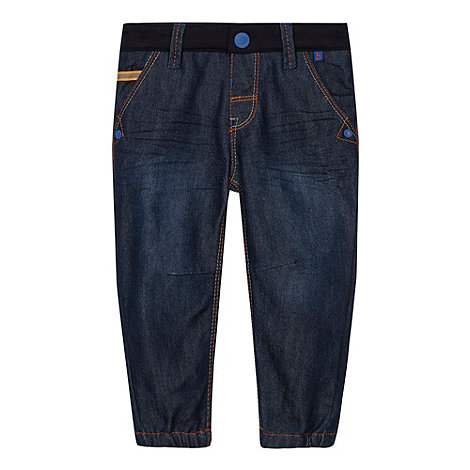 Baker by Ted Baker - Babies blue jersey waistband jeans