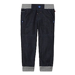 Baker by Ted Baker - Boy's dark blue ribbed waist jeans