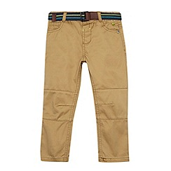 Baker by Ted Baker - Boy's natural chinos with belt