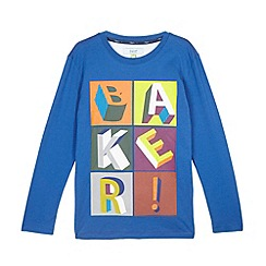 Baker by Ted Baker - Boy's bright blue block logo top