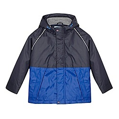 Baker by Ted Baker - Boy's blue longline wind coat