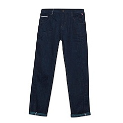 Baker by Ted Baker - Boy's navy twisted leg jeans