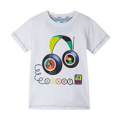 Baker by Ted Baker - Boy's white headphones printed t-shirt