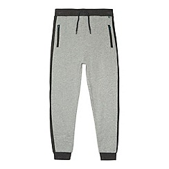 Baker by Ted Baker - Boy's grey zip pocket joggers