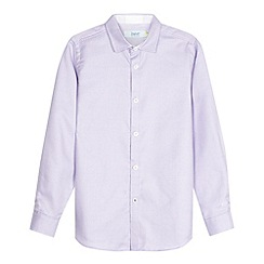 Baker by Ted Baker - Boy's purple textured shirt