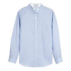 Baker by Ted Baker - Boy's blue textured shirt