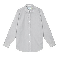 Baker by Ted Baker - Boy's white spotted shirt