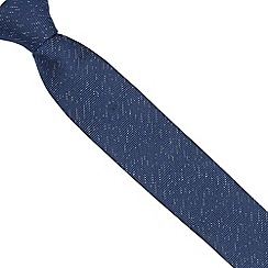 Baker by Ted Baker - Boy's navy textured tie