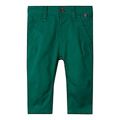 Baker by Ted Baker - Babies green peg chinos