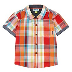 Baker by Ted Baker - Babies red checked shirt