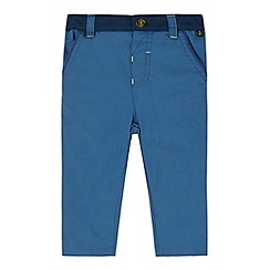 Baker by Ted Baker - Babies blue textured chinos