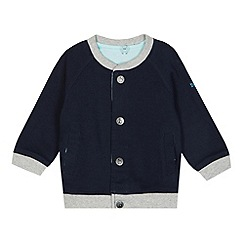 Baker by Ted Baker - Babies blue hippo print reversible jacket