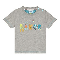 Baker by Ted Baker - Babies grey character logo t-shirt