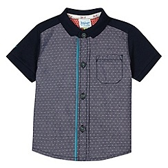 Baker by Ted Baker - Babies navy chest pocket polo shirt
