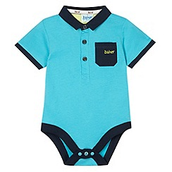 Baker by Ted Baker - Babies dark turquoise tipped bodysuit