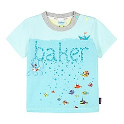 Baker by Ted Baker - Babies blue under the sea t-shirt