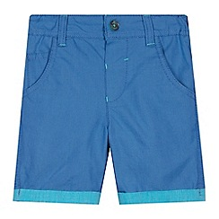 Baker by Ted Baker - Babies blue textured shorts