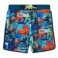 Baker by Ted Baker - Boy's blue submarine print shorts
