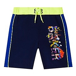 Baker by Ted Baker - Boy's logo leg swim shorts