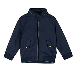 Baker by Ted Baker - Boy's navy harrington jacket