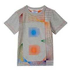 Baker by Ted Baker - Boy's grey graphic print t-shirt