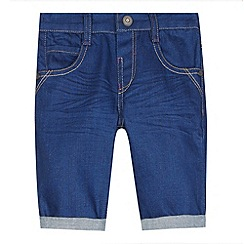 Baker by Ted Baker - Boy's blue denim shorts