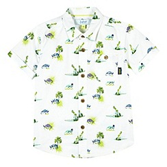 Baker by Ted Baker - Boy's white chameleon pocket shirt