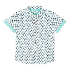 Baker by Ted Baker - Boy's white hermit crab shirt