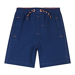 Baker by Ted Baker - Boy's blue jersey shorts