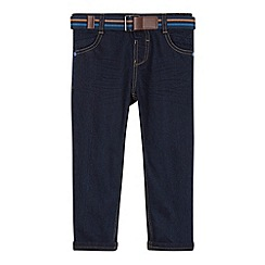 Baker by Ted Baker - Boy's dark blue twisted leg belted jeans