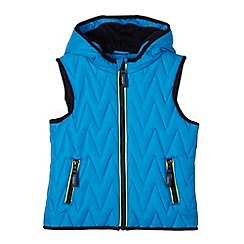 Baker by Ted Baker - Boy's light blue quilted gilet
