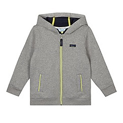 Baker by Ted Baker - Boy's grey zip through hoodie